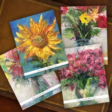 Floral Note Cards - Beth Clary Schwier