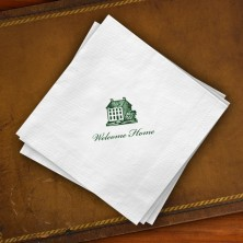 Prentiss Beverage Napkins - House Design