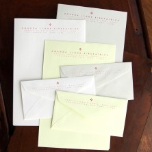 Laid Mark Formal Stationery