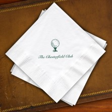 Designer Super Soft Beverage Napkins