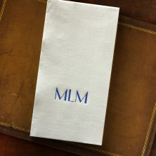 Textured Guest Towel - Embossed Border