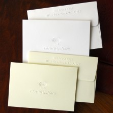 Designer Embossed Notes