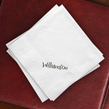Contemporary Textured Buffet Napkins