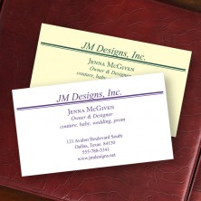 Executive Business Cards