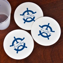 Captain's Wheel Coasters