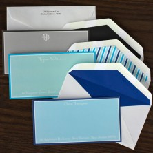 Graceful Slender Correspondence Cards
