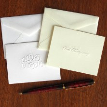 Embossed Gift Enclosures