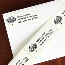 Nature's Way Address Labels - Flourish Tree