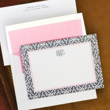 Wrought Iron Correspondence Cards