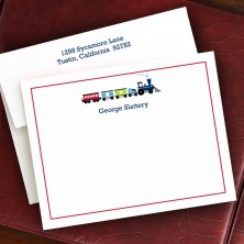 Choo Choo Train Correspondence Cards