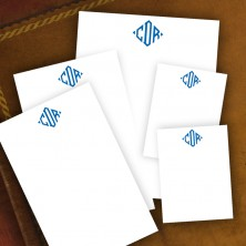 Personalized Memo Pad Set - with Monogram