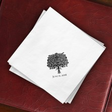 Prentiss Dinner Napkins - Bouquet Design
