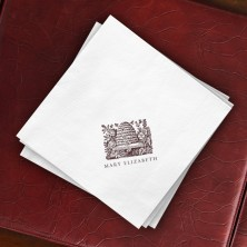 Prentiss Dinner Napkins - Hive Design