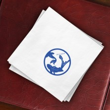 Prentiss Dinner Napkins - Koi Design