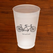 Prentiss Frost Flex Tumbler - Bike Design