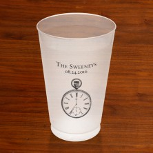 Prentiss Frost Flex Tumbler - Clock Design
