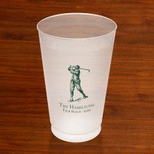 Prentiss Frost Flex Tumbler - Golfer Design