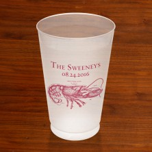 Prentiss Frost Flex Tumbler - Lobster Design