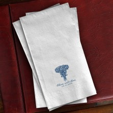 Prentiss Guest Towels - Roses Design
