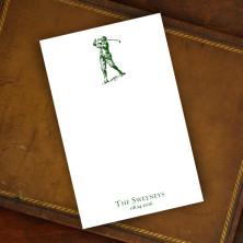 Prentiss Memo Set - Golfer Design Refill