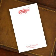 Prentiss Memo Set - Lobster Design Refill