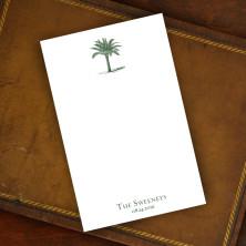Prentiss Memo Set - Palm Tree Design Refill