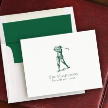 Prentiss Notes- Golfer Design