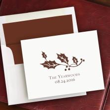 Prentiss Notes- Holly Design