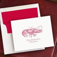 Prentiss Notes- Lobster Design