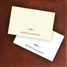Stately Placecards - Design 2
