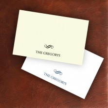 Stately Placecards - Design 3