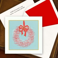 Winterberry Wreath Greeting Card