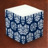Merrimade Self Stick Memo Cubes - Damask