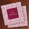 Merrimade Designer Paper Coasters - Wine Floral