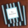 Merrimade Designer Paper Coasters - Black Bold Stripes