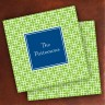 Merrimade Designer Paper Coasters - Lime Keystone