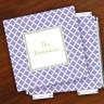 Merrimade Designer Paper Coasters w/Holder - Victorian Lattice
