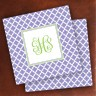 Merrimade Designer Paper Coasters - with Monogram - Victorian Lattice