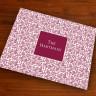 Merrimade Designer Paper Placemats - Wine Floral