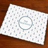 Merrimade Designer Paper Placemats - Stitched Anchors