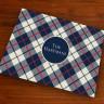 Merrimade Designer Paper Placemats - Plaid