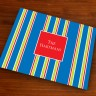 Merrimade Designer Paper Placemats - Navy Bold Stripe