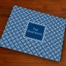 Merrimade Designer Paper Placemats - Navy Keystone
