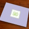 Merrimade Designer Paper Placemats - with Monogram - Victorian Lattice