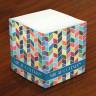 Merrimade Self Stick Memo Cubes - Modern Mosaic