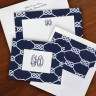Nautical Knot Ensemble by Boatman Geller - with Monogram