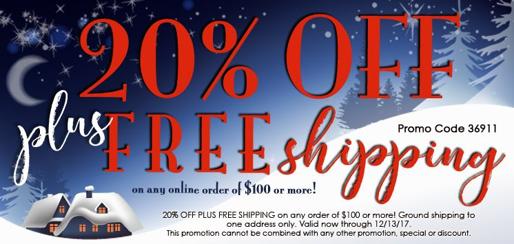 20% off Plus Free Shipping  36911 compressed